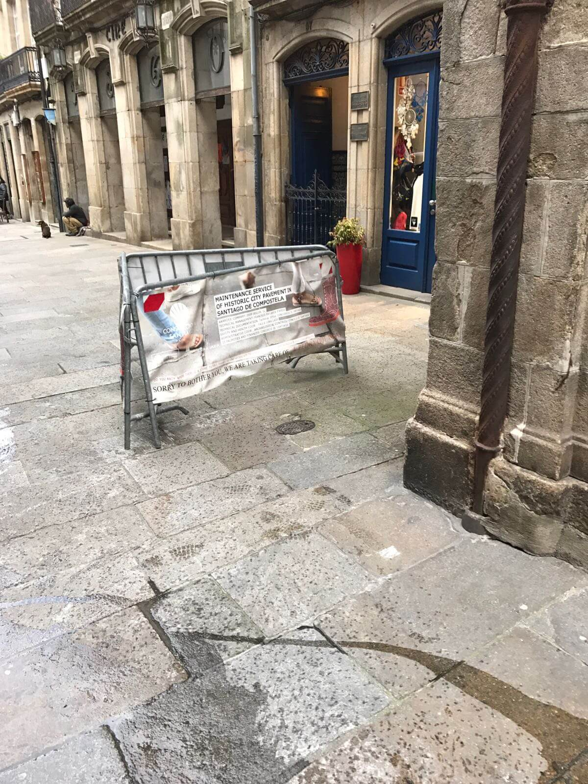 Mantemento E Conservación Dos Pavimentos Do Recinto Intramuros Da Cidade Histórica De Santiago De Compostela