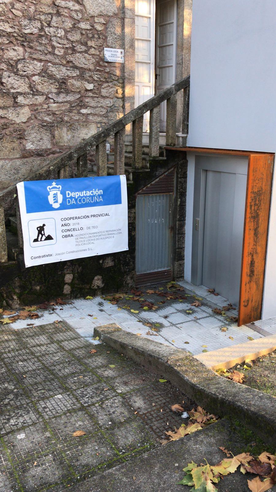 Acondicionamiento Y Reparación Del Pabellón Deportivo Ramallosa, Tilos Y Locales Del Juzgado Y Policía Local