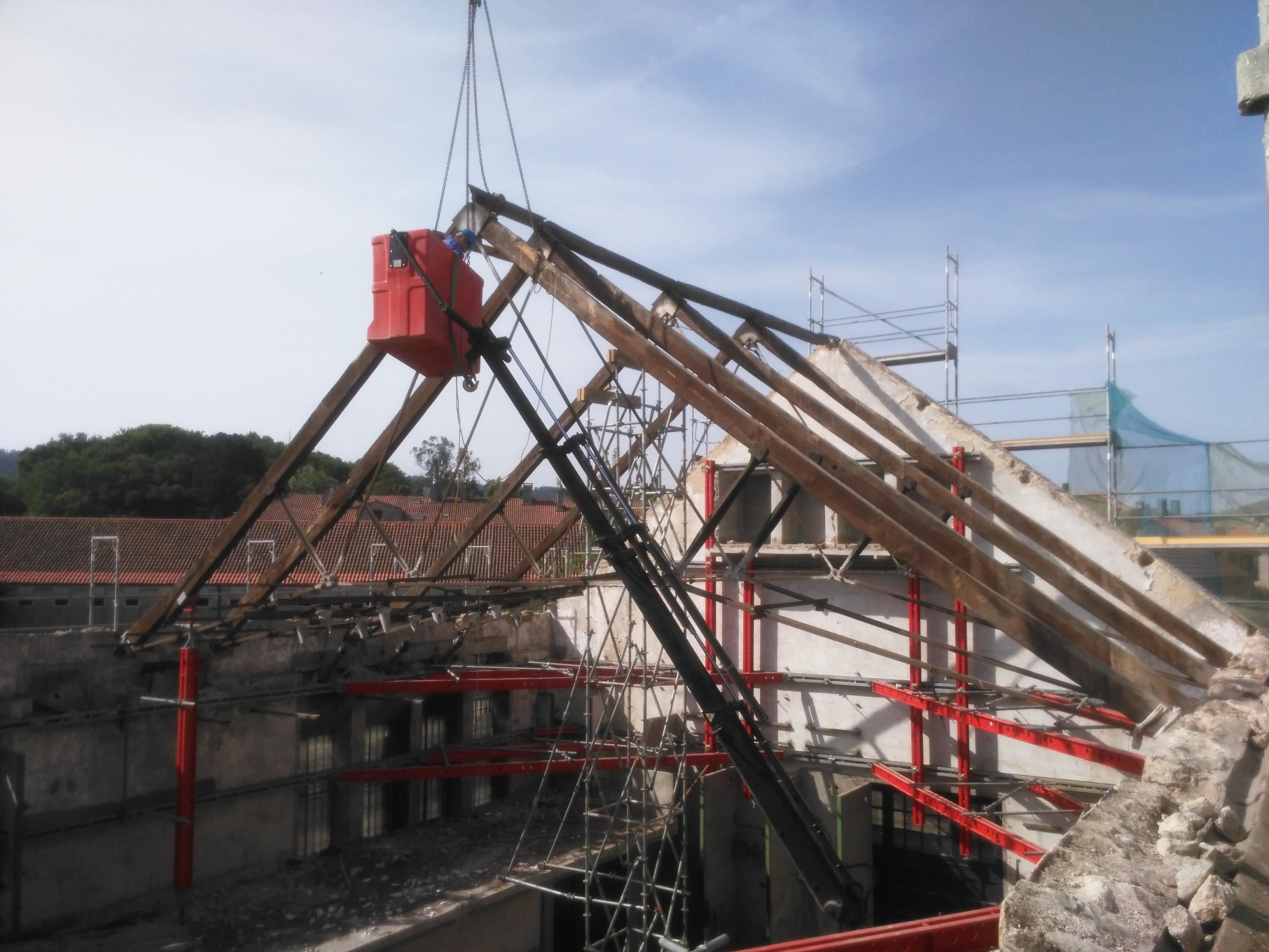 Rehabilitación Del Edificio Casa De Las Máquinas